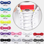 1 Paar Sneakers Elastic Locking Runde Schnürsenkel No Fasten Lazy Shoelace Hot