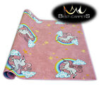 Fitted carpet for kids UNICORN Width 200, 400 cm extra long