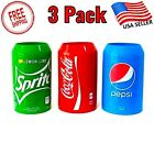 Silicone Beer Can Covers Hide A Beer -  Soda Coco Cola Can Sleeve US Seller Gift