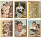 1962 Topps (284-446) Stars and Commons * You Pick * Conditions Listed
