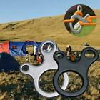 Quick Knot Tent Wind Rope Buckle 3 Hole Antislip Outdoor Ca W0n1 Hook B1f1