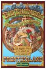 Disney World Big Thunder Mountain - Collector Poster 4 Sizes  (b2g1 Free!!)