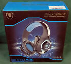 NEW Red / Blue Beexcellent GM-1 Gaming Headset Pro & Mic XBOX One PS4 Microphone