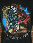 Vintage 1989 Don't Fear The Reaper Reprinted Black Unisex T-Shirt S-2XL LL645 image
