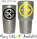 Pittsburgh Steelers Football Decal for NFL YETI Tumbler 20 30 Ozark RTIC Sticker $1.99 USD on eBay
