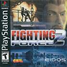 Fighting Force 2 (Sony PlayStation 1, 1999) PS1 TESTED CIB