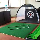 Golf Cage Detachable Swing Hitting Practice Net Trainer Indoor Training Aids New