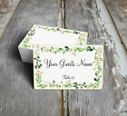 RUSTIC EUCALYPTUS HERBS SWAG WEDDING PLACE CARDS, TAGS or ESCORT CARDS 399