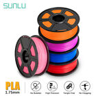 Kyпить SUNLU 3D Printer Filament PLA 1.75mm 1KG/2.2lb Spool PLA Multicolor Colour на еВаy.соm