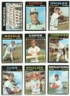 1971 Topps Series 6 (644-752) * You Pick * Conditions Listed