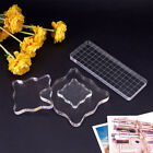 Pressure Scrapbook Transparent  Stamps Block Pottery Workbench Acrylic Pad image