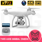 K777 Drone GPS 4K HD Two-Axis Anti-Elude Gimbal Camera 5G WIFI Brushless SD Card