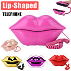 Lips Shape Corded Landline Telephone Wired Desktop Phone For Home Office Hotel