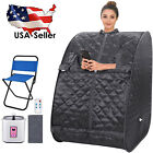 Portable Steam Sauna Spa, 2L Personal Therapeutic Sauna for Weight Loss Detox !!