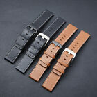 Watch Bands Watch Straps Cowhide Genuine Leather Wristwatch Band Belt Parts 22mm image