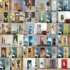 3d Door Wall Sticker Decal Self Adhesive Mural Home Bedroom Decor Waterproof Art
