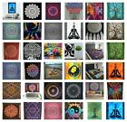 COTTON Wall Hanging LARGE Tapestry Bohemian Hippie Mandala Bedspread Yoga Throw