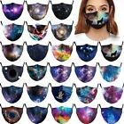 Fashion 3d Printed Unisex Adults Face Mask Washable & Reusable Mouth Protection