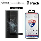 Glasave Black HD Tempered Glass Screen Protector Film For SONY Xperia XA2 Ultra