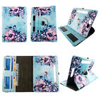 """10 inch tablet case Android universal tablet cover 10"""" 360 stand cash ID slots"""