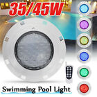 Remote Control RGB Wall-mounted Underwater Pond Fountain Swimming Pool LED Light