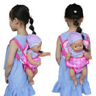 US Handmade Doll Mini Baby Travel Backpack for 18 inch Doll Carrier Accessory