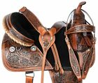 16 WESTERN TREELESS HORSE SADDLE LEATHER TACK ALL PURPOSE TRAIL ENDURANCE