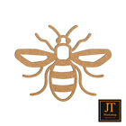 Bee MDF Craft Shapes Wooden Blank Gift Tags Decoration Embellishments Pack