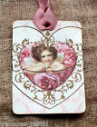 Hang Tags ANGEL CUPID ROSE HEART TAGS or MAGNET 284 Gift Tags