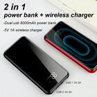 Baseus 10000/8000mAh Full Screen Bracket Wireless Charge Power Bank