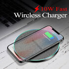 US 15W Charger Qi Wireless Charging Pad Mat For iPhone 11 XS Samsung S20 S10 S9