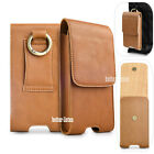 Genuine Leather Case Holster Cover Pouch Card Belt Clip Loop for iPhone 6 7 8 6s