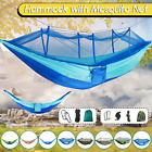 Portable Camping Hammock with Mosquito Netting Hanging Hammock Bed Outdoor  !