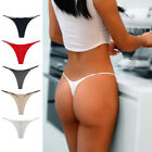 Thin Strappy Women Thongs and G Strings Plus Size Low Rise Underwear S/M/L/XL