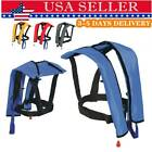 Manual Inflatable Life Jacket Floating Life Vest PFD Inflatable Safety Swimsuit