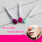6 Colors Soft Skin-friendly Silicone Face Clean Brushes  Blackhead Cleaner Too1