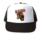 Trucker Hat Cap Foam Mesh School Team Mascot Rams Don't Mess With