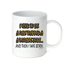 Coffee Cup Travel Mug 11 15 Oz I Used to Be Man Trapped Womans Body Born Funny