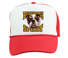 Trucker Hat Cap Foam Mesh School Team Mascot Bulldogs Spirit