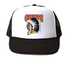 Trucker Hat Cap Foam Mesh School Team Mascot Chiefs
