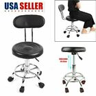 Hydraulic Rolling Swivel Stool Salon Spa Adjustable Tattoo Chair Facial Massage