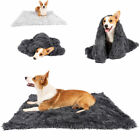 Soft Plush Fluffy Dog Mat Blanket Pet Cat Calming Bed Cushion for Kennel Winter
