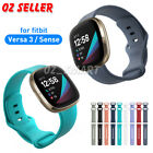 Replacement Silicone Watch Wrist Sports Band For Fitbit Versa 3/ Sense Wristband