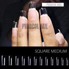 Gel X Tips Nail Extension System Full Cover Pre-shaped Coffin Long False Tip