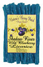 Shadow River Gourmet Wild Blueberry Licorice Candy - Old Fashioned Blue Twists