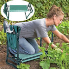 Portable Folding Garden Kneeler Foam Kneeling Stool Tools Bag Padded Seat Pad