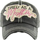 Funky Junque Womens Baseball Cap Distressed Vintage Unconstructed Embroidered Pa