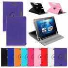 New Rotating 360° PU Leather 7 & 10 inch Case Cover For Android Tablet PC