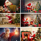 Merry Christmas Santa Claus Background Photo Props Studio Photography Backdrops