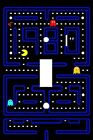 CLASSIC PAC MAN ARCADE GAME ROOM LIGHT SWITCH PLATE COVER WALL DECOR